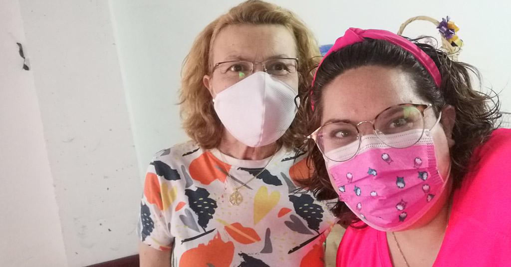 Juana Moya y el Colectivo Calasparra se Mueve
