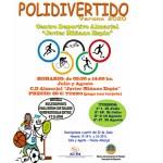 """El lunes, 22 de junio, comienzan las inscripciones para el """"Polidivertido"""" y los Cursos de Natación"""