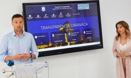 El Ayuntamiento de Caravaca presenta el nuevo portal de transparencia y la línea verde de comunicación de incidencias para acercar la información pública y mejorar la comunicación con el ciudadano