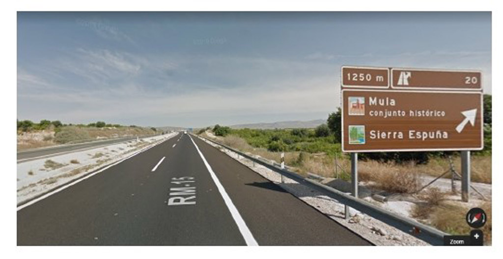 La Concejalía de Turismo solicita la mejora de la señalización turística de Mula