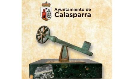 El Ayuntamiento de Calasparra hará entrega de las Llaves de la Villa el próximo martes 9