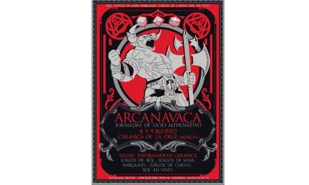 Arcanavaca 2020, jornada en Caravaca de juegos de mesa, rol, y wargames
