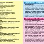El Ayuntamiento de Cehegín presenta su programa de actividades para el verano