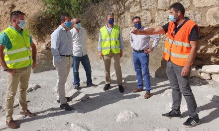 Fomento finaliza la recuperación de la carretera que une Mula con Pliego que resultó afectada por la dana