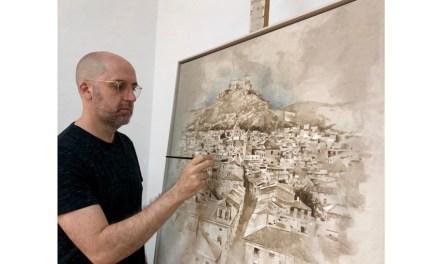 Nono García, autor de logo del V Centenario del Castillo de Mula: «Como muleño el castillo forma parte de toda mi trayectoria pictórica»