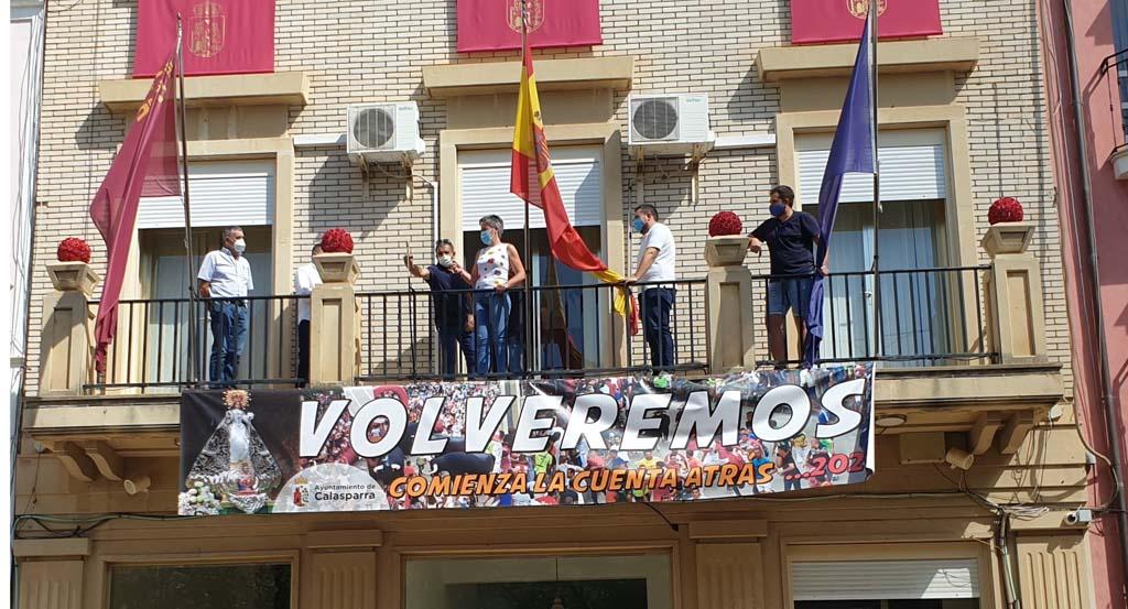 Desde el Ayuntamiento de Calasparra se ha lanzado un chupinazo simbólico por la Feria y Fiestas de Calasparra 2020