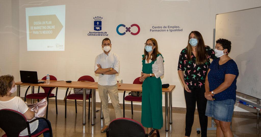 El Ayuntamiento de Caravaca y la Cámara de Comercio inician acciones formativas dentro del Plan de Apoyo al Comercio Minorista