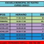 Abierto el plazo para la Escuela Municipal de Teatro de Cehegín