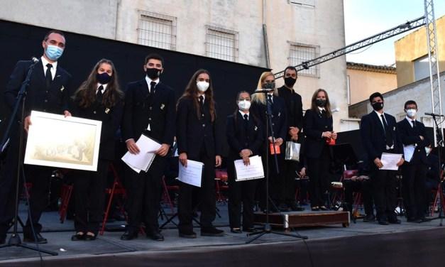 La Asociación Banda de Música de Calasparra presenta a sus nuevos músicos en el concierto de Santa Cecilia
