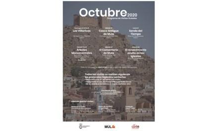 La Concejalía de Turismo de Mula programa visitas guiadas durante el mes de octubre