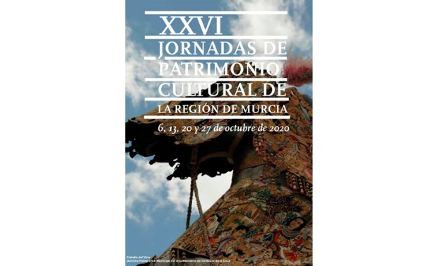 Caravaca de la Cruz adquiere especial protagonismo en las XXVI Jornadas de Patrimonio Cultural de la Región de Murcia