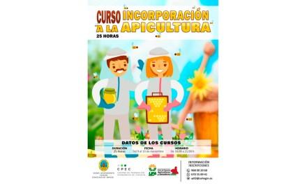 Curso de apicultura de ASAJA y el Ayuntamiento de Cehegín
