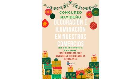 Concurso en Bullas de decoración e iluminación navideña en comercios