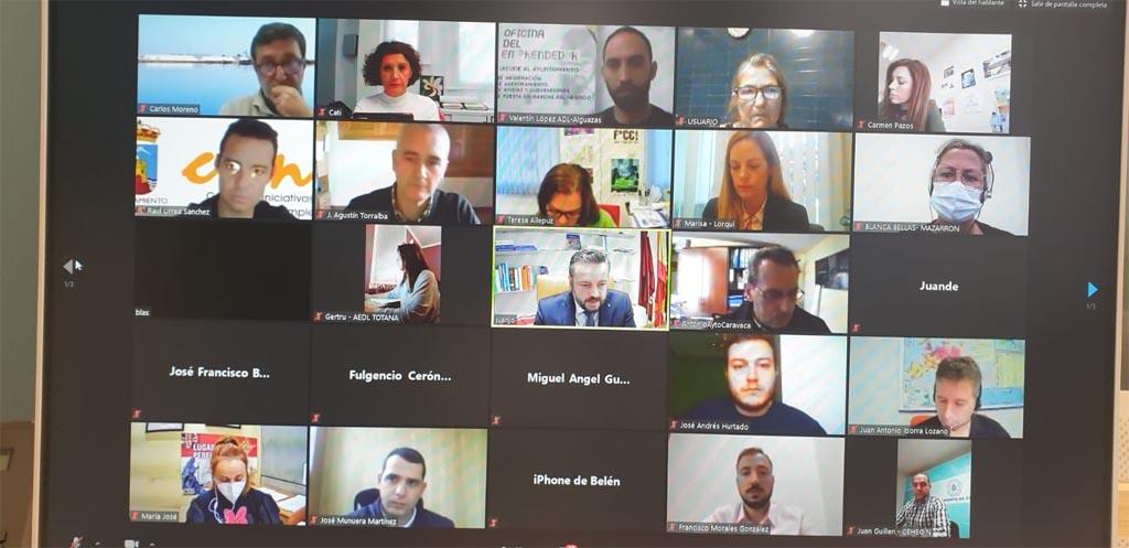 Encuentro por videoconferencia con el Director General de la Unión Europea