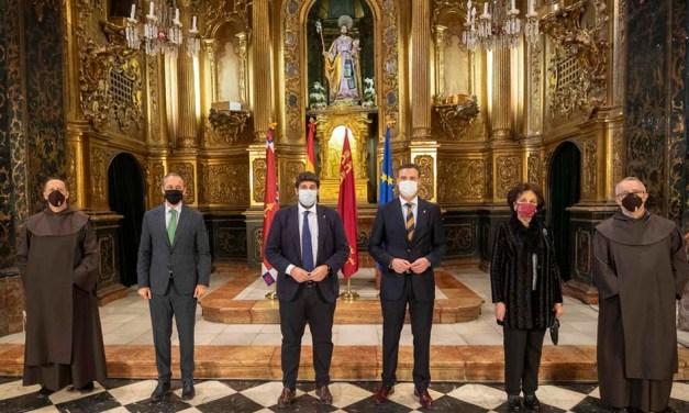 El Gobierno regional convertirá la iglesia convento de San José de Caravaca en el epicentro de las celebraciones del próximo Año Jubilar