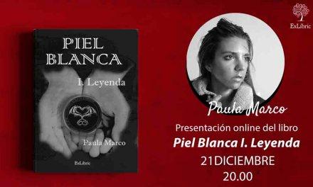 Piel Blanca I, de la escritora Paula Marco, se presenta online el 21 de diciembre
