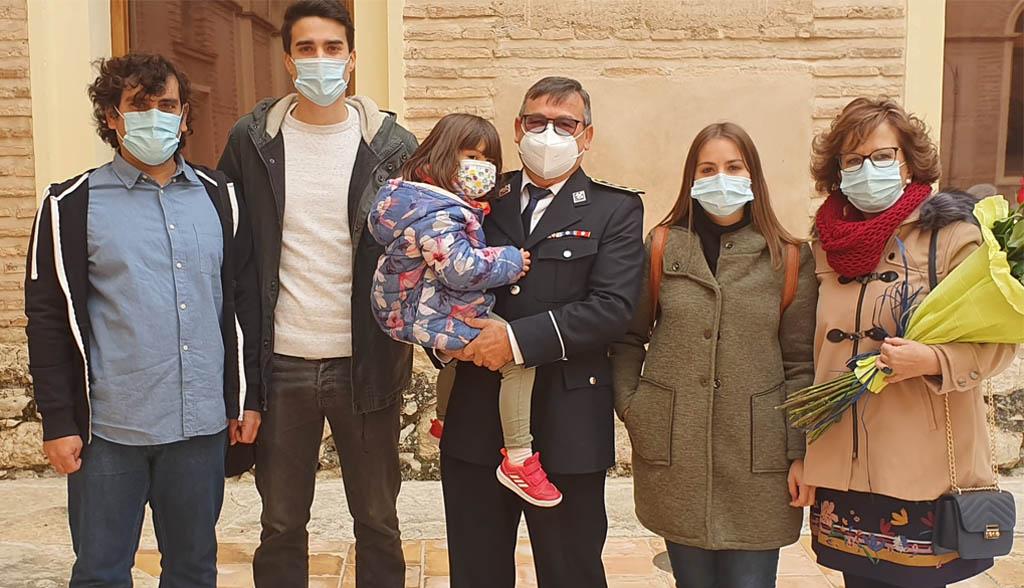 Santiago Andreu Ponce: «La pandemia me obligó a retrasar mi jubilación que ya había retrasado hacía dos años»