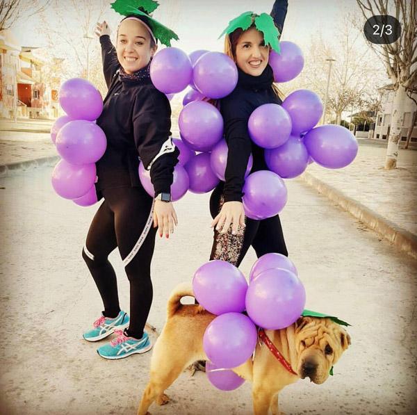 Premio a la mejor Fotografía disfrazadas de uva