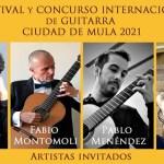 Este verano se celebrará el I Festival y Concurso Internacional de Guitarra 'Ciudad de Mula'