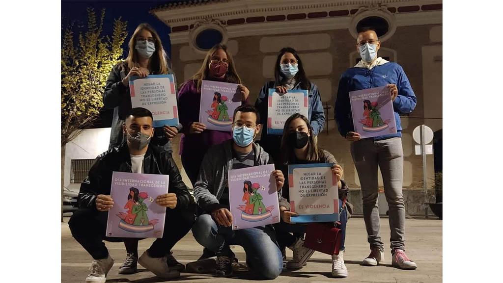 Juventudes Socialistas de Cehegín reivindica el derecho de las personas trans