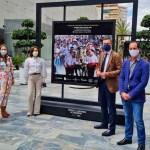 Dos exposiciones al aire libre en Murcia y Caravaca exhiben de forma simultánea imágenes de las Fiestas de Caravaca
