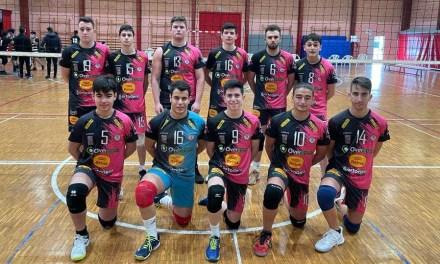 El equipo juvenil del Club Voleibol Caravaca ante su mejor versión de los últimos años