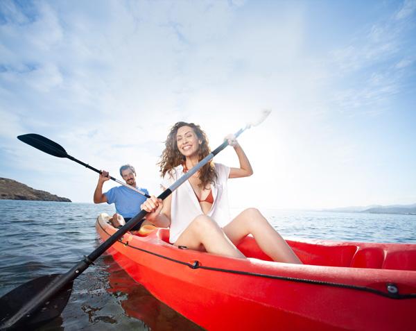 Kayak en La Azohía