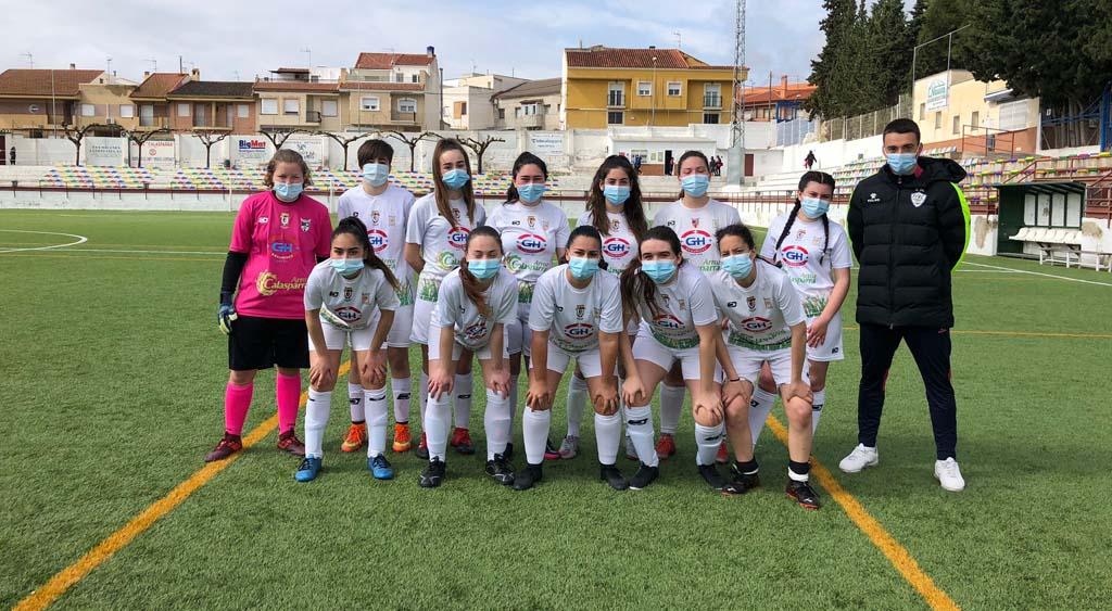 El fútbol femenino ya es una realidad en Calasparra