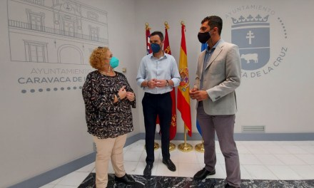 El director general de Universidades visita el Centro Asociado de la UNED de Caravaca de la Cruz