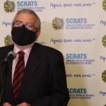 Alberto Castillo, presidente de la Asamblea Regional: «El trasvase es irrenunciable porque el agua es nuestra fuente de vida»