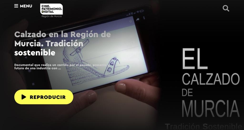 La Comunidad publica un documental sobre la industria del calzado en la Región de Murcia