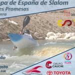La segunda Copa de España de Slalom de Jóvenes Promesas se celebra en Calasparra