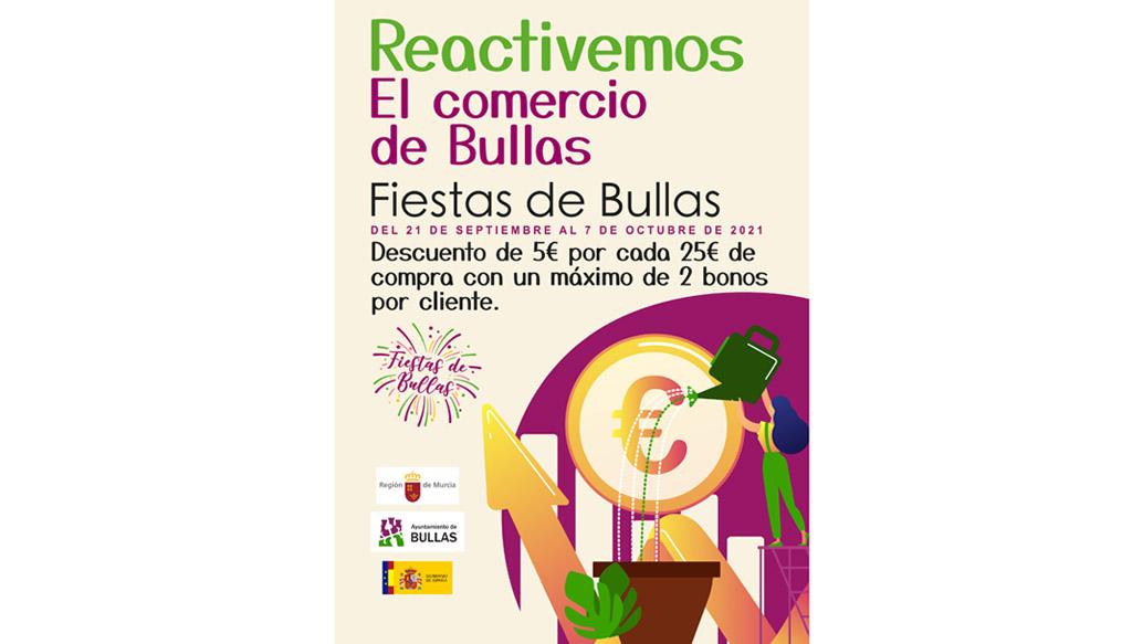 Quince establecimientos de Bullas se suman a la campaña para reactivar las compras locales