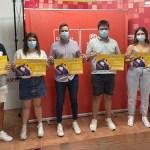 Juventudes socialistas de Calasparra inicia su tradicional campaña solidaria de recogida de material escolar y ropa