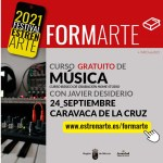 Caravaca acoge un taller sobre técnicas de grabación musical desde casa dentro del festival 'EstrenArte'