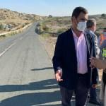 La Comunidad inicia la ampliación y mejora del firme de la carretera que une Campos del Río y Alguazas