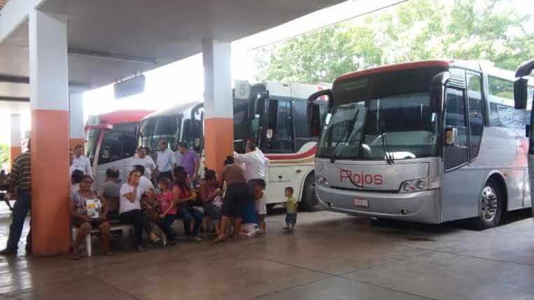 Central de autobuses de Colima   Foto: Especial