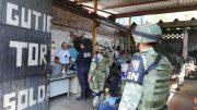 Elementos de seguridad supervisando áreas en municipios | Foto: Gobierno Colima