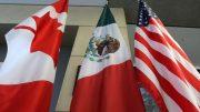 Banderas de Cánada, México y Estados Unidos | Foto: especial.