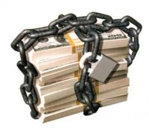 dinero encadenado