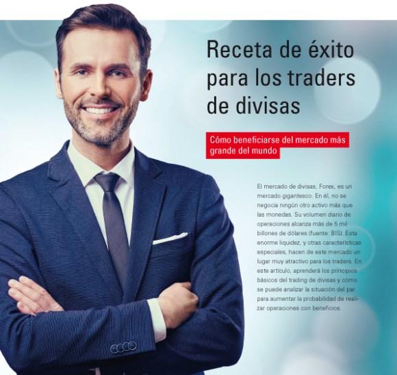 receta de exito para los traders de divisas