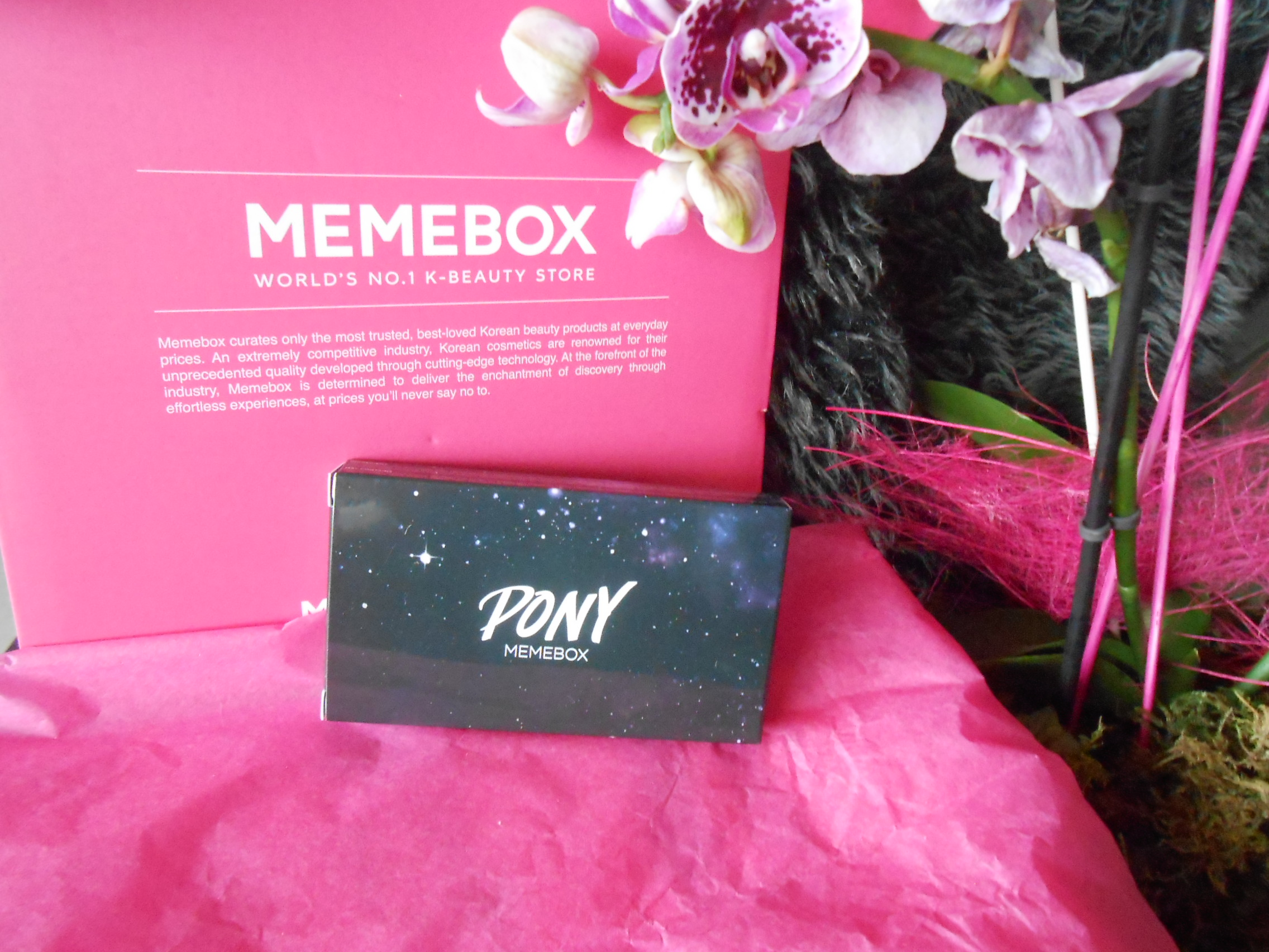 La merveilleuse box PONY x Memebox !