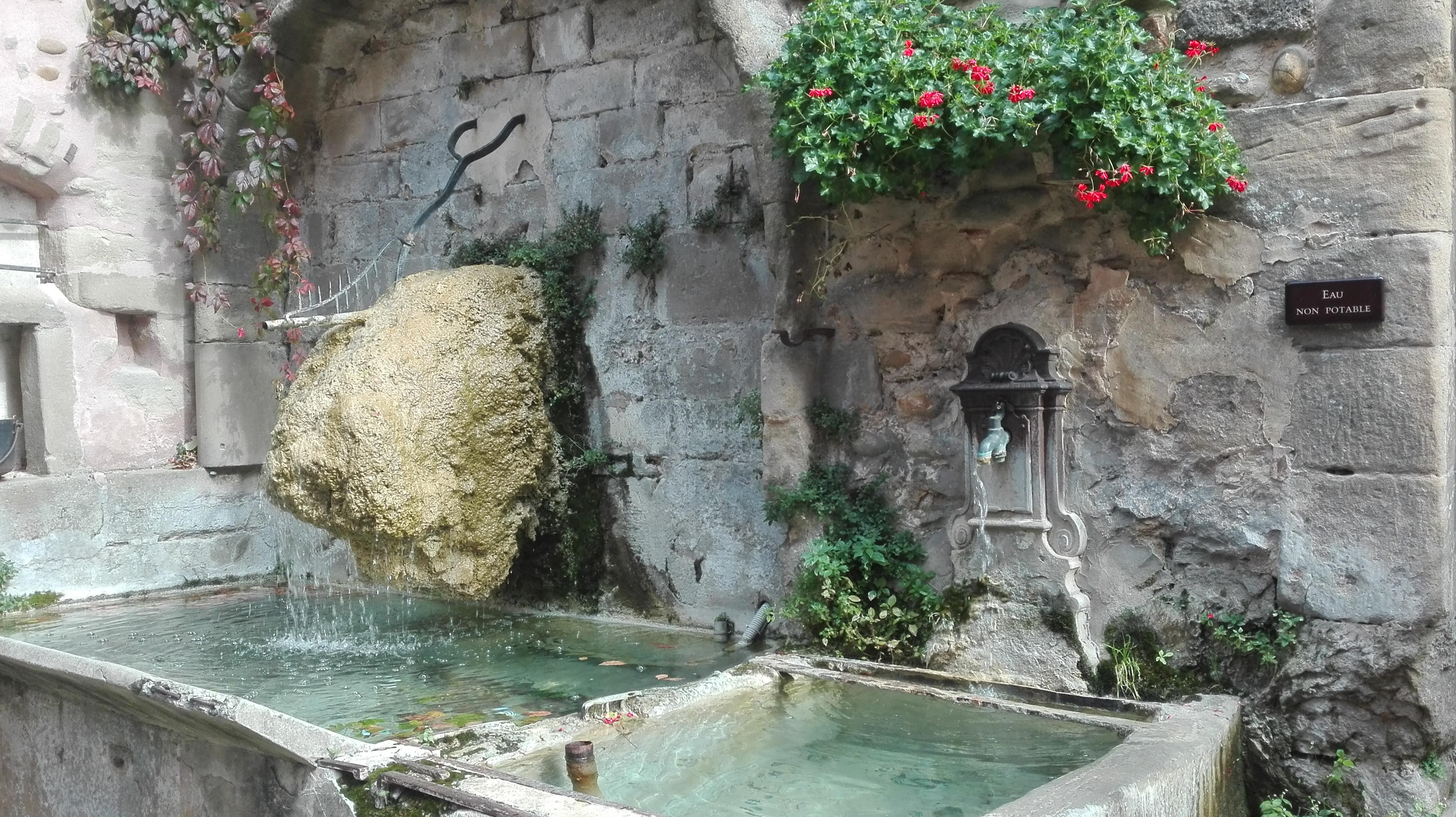 Elo visite Saint Antoine l'Abbaye et Pont-en-Royans en Isère