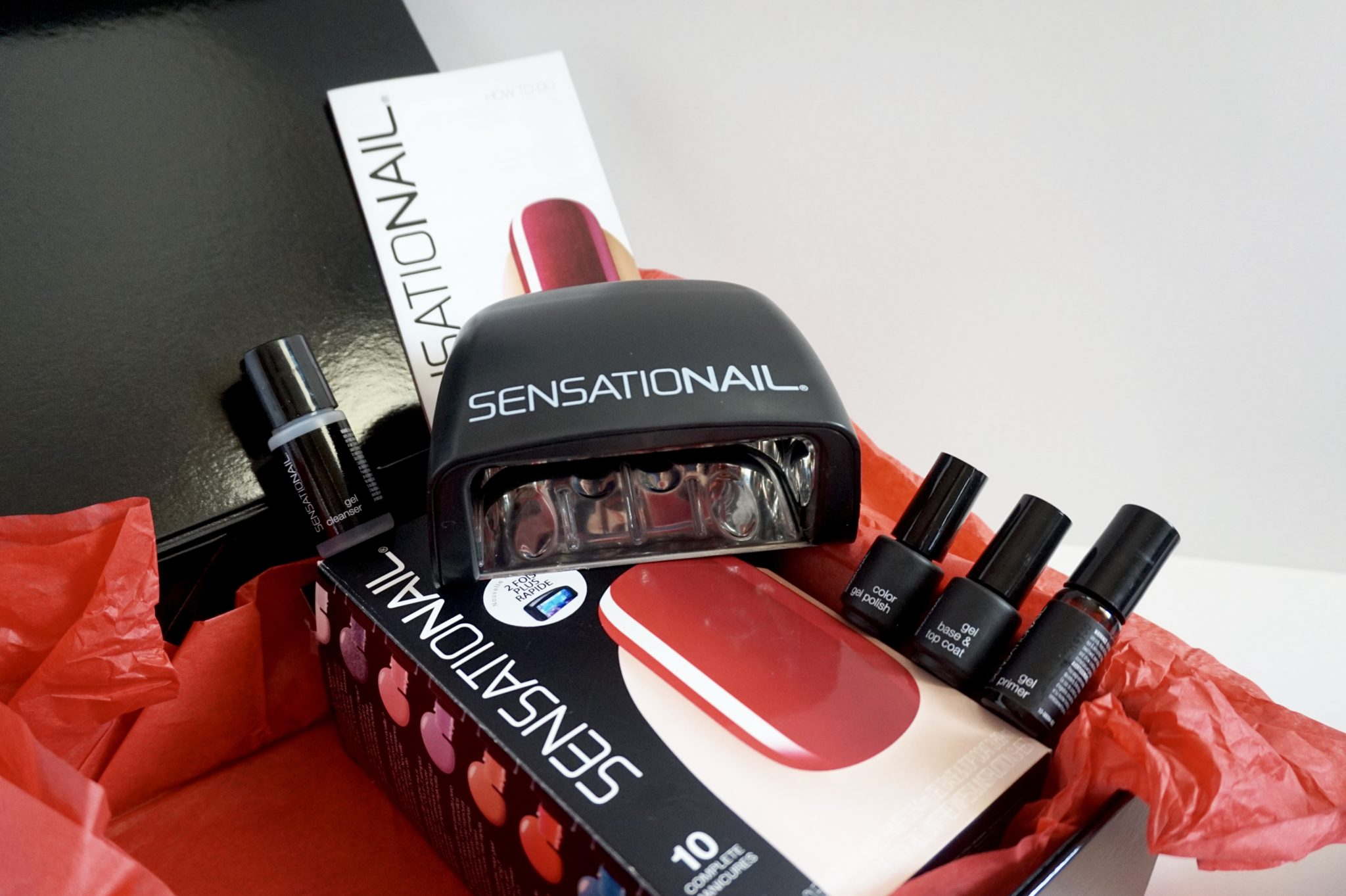 CRASH TEST : vernis gel semi-permanent SensatioNail !