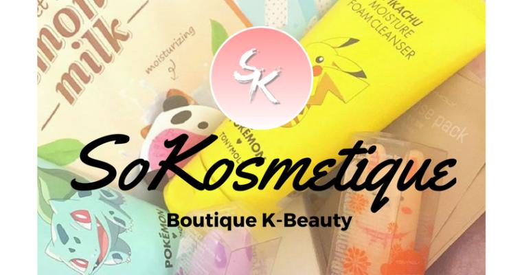 SoKosmetique : nouveau eshop K-Beauty français !