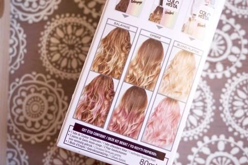 mode d'emploi coloration rose l'oréal