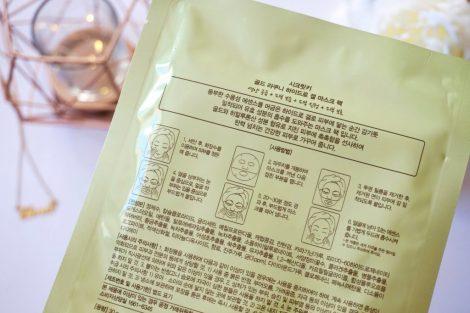Application Masque tissu coréen