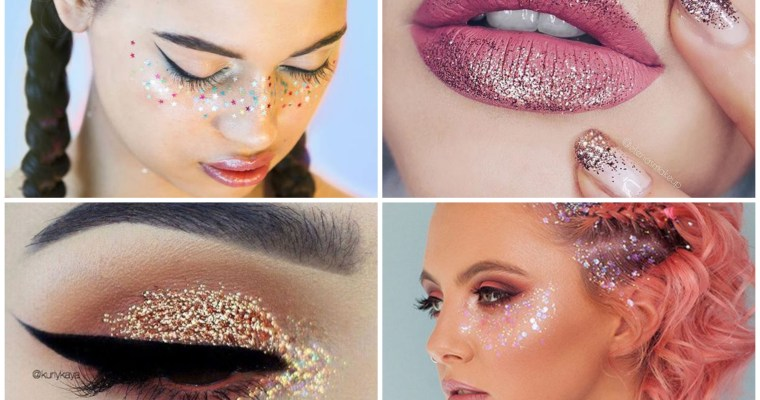Inspiration Maquillages spéciale Fêtes !