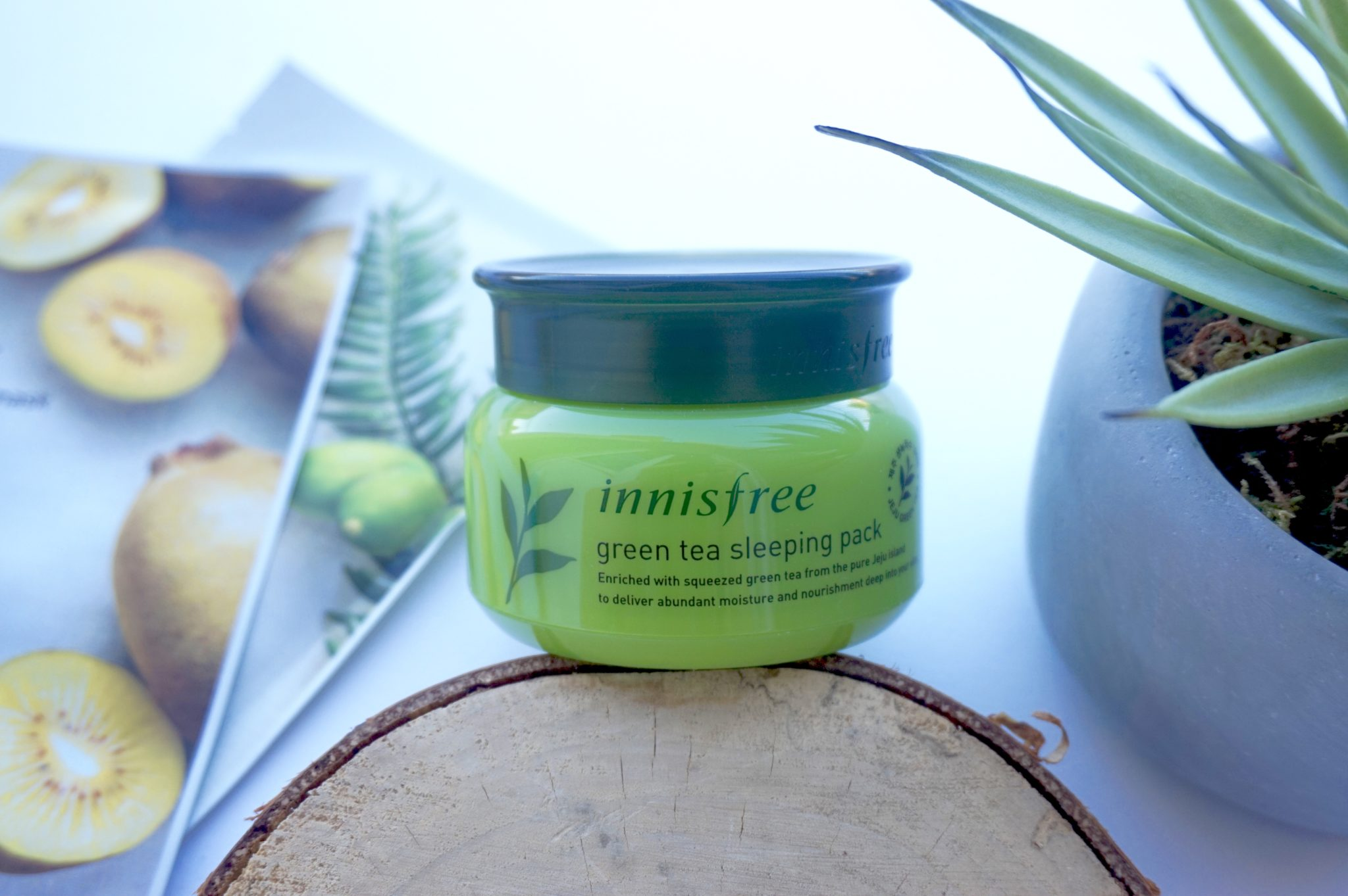 Revue Best Seller Innisfree : Green Tea Sleeping Pack