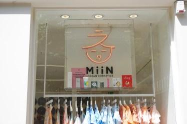 Boutique K-Beauty Miin Cosmetics Paris